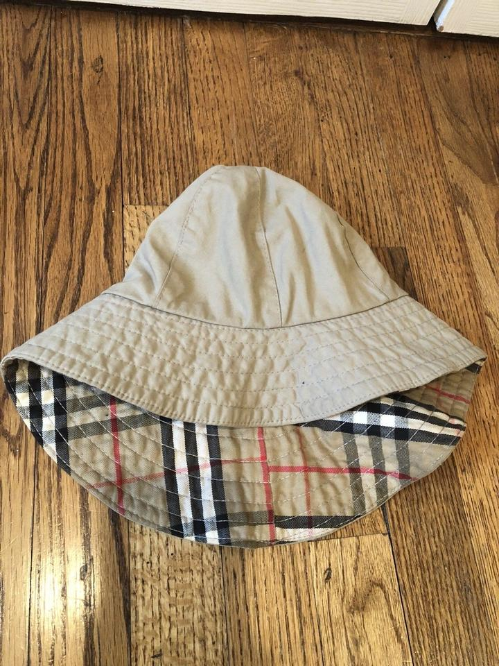 f41ebf5af4f Burberry BURBERRY VINTAGE TRENCH RAIN HAT WITH ICONIC PLAID LINING-ONE SIZE  S Image 4. 12345