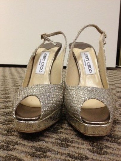 Jimmy Choo Champagne Sandals