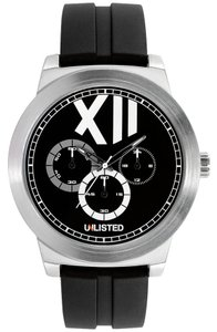 Unlisted Male Casual Watch UL1286 Black Analog