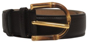 Gucci Gucci Bamboo Buckle Leather Belt 322954