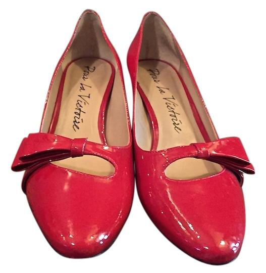 Preload https://item3.tradesy.com/images/pour-la-victoire-red-patent-leather-bow-new-pumps-size-us-85-regular-m-b-2282727-0-0.jpg?width=440&height=440