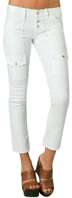 Item - White Beverly Cargo Jeans Size 28 (4, S)