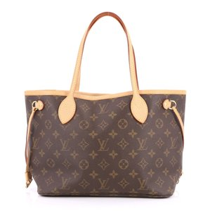 Louis Vuitton Canvas Brown Tote in Monogram