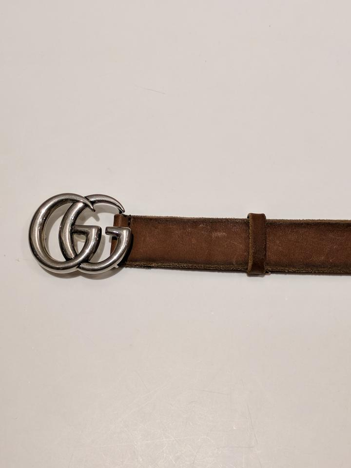 Gucci marmont belt bag used