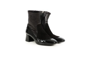 Christian Louboutin Dior Leather Sock Black Boots