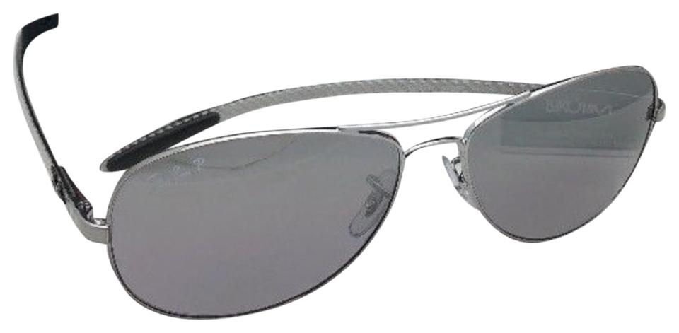 5d8b6a89e8f7 Ray-Ban Polarized Tech Rb 8301 004 N8 59-14 Gunmetal W  Grey ...