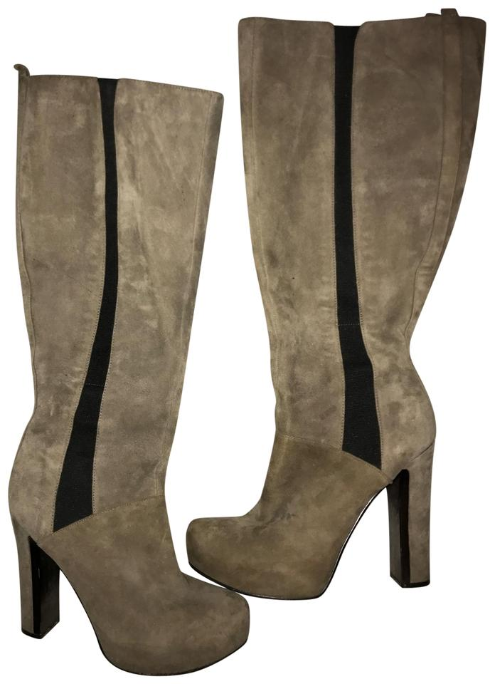 0b0208f91366 Guess Knee High Gray and Black Boots Booties Size US 8.5 Regular (M ...
