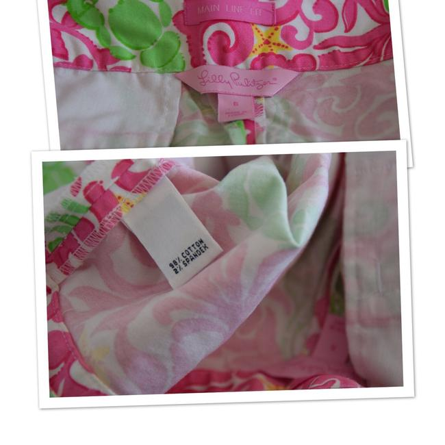 Lilly Pulitzer Capris white/pink/green Image 2