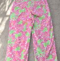 Lilly Pulitzer Capris white/pink/green Image 7