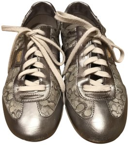Coach Sneakers Sneaers Silver Athletic