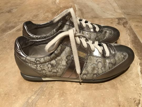 Coach Sneakers Sneaers Silver Athletic Image 1