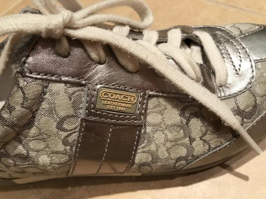 Coach Sneakers Sneaers Silver Athletic Image 2