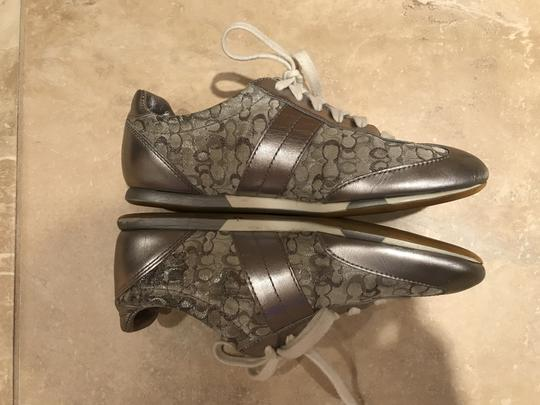 Coach Sneakers Sneaers Silver Athletic Image 3