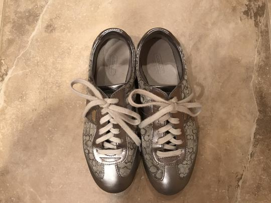 Coach Sneakers Sneaers Silver Athletic Image 5