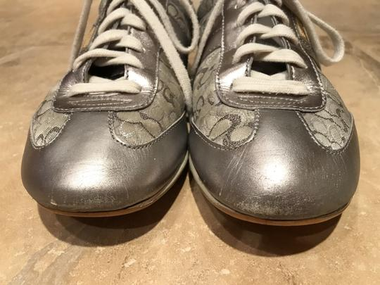 Coach Sneakers Sneaers Silver Athletic Image 6