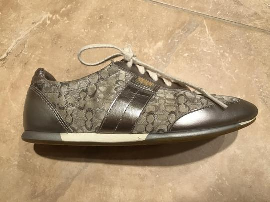 Coach Sneakers Sneaers Silver Athletic Image 8