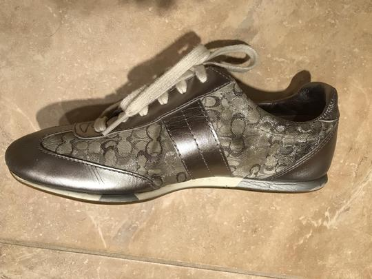 Coach Sneakers Sneaers Silver Athletic Image 9