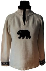 True Grit Half Zip Cotton Sweater