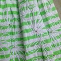 Lilly Pulitzer Green Roswell Resort Striped Fit and Flare Short Casual Dress Size 10 (M) Lilly Pulitzer Green Roswell Resort Striped Fit and Flare Short Casual Dress Size 10 (M) Image 7