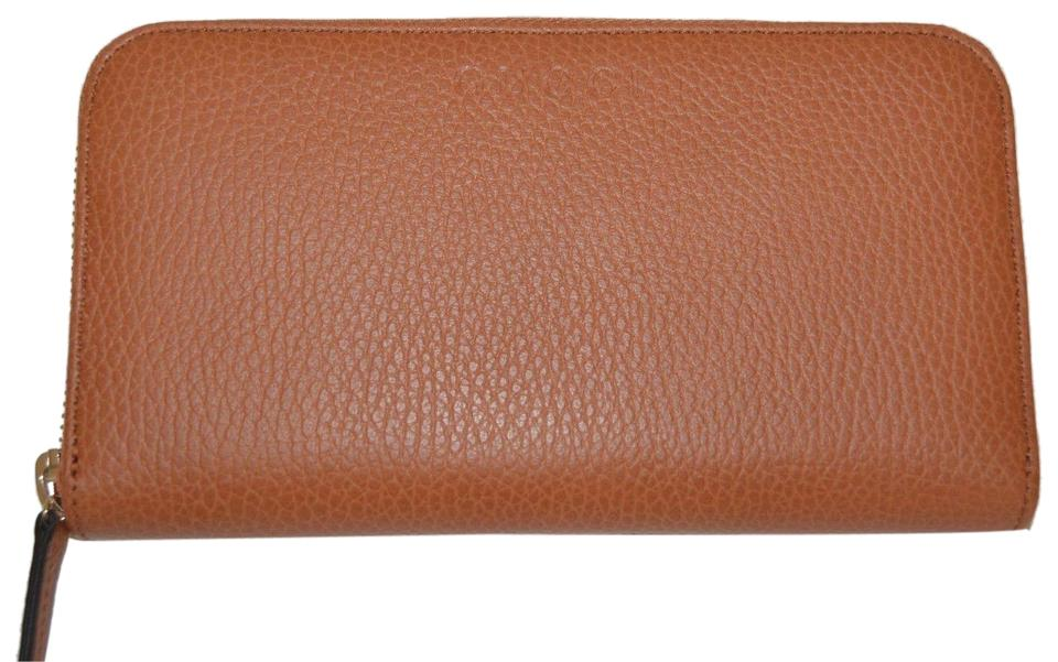 0ab454d8b899 Gucci NIB GUCCI WOMENS LEATHER ZIP AROUND WALLET CLUTCH MADE IN ITALY Image  0 ...