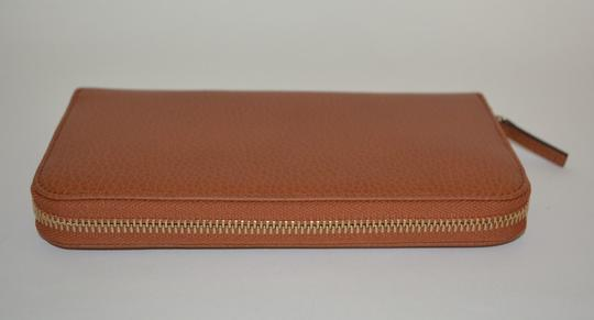 Gucci NIB GUCCI WOMENS LEATHER ZIP AROUND WALLET CLUTCH MADE IN ITALY Image 3