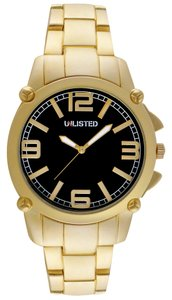 Unlisted Male Casual Watch UL1292 Gold Analog
