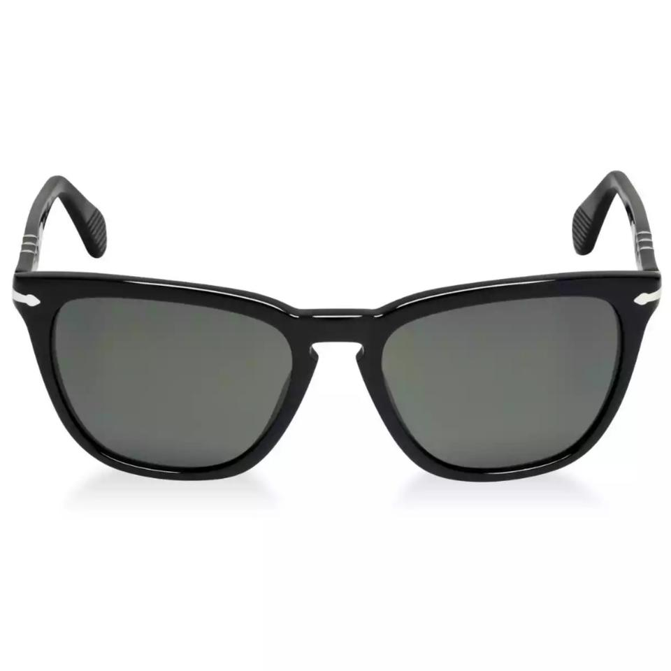 Persol Black Frames with Grey Lenses Po3024s Capri Polarized 95/58 ...