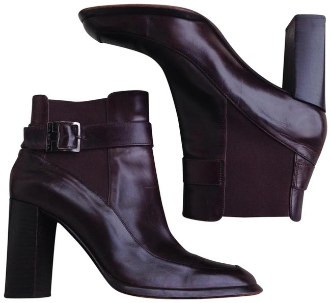 Via Spiga Brown Square Toe Ankle Boots/Booties Size US 7.5 Regular (M, B) Via Spiga Brown Square Toe Ankle Boots/Booties Size US 7.5 Regular (M, B) Image 1