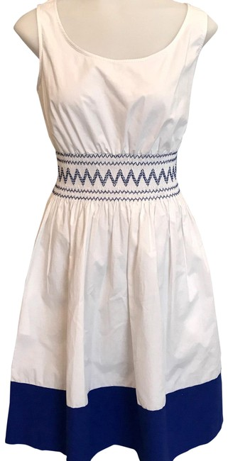 Preload https://img-static.tradesy.com/item/22829696/kate-spade-white-look-for-the-silver-lining-cotton-smock-short-casual-dress-size-2-xs-0-2-650-650.jpg