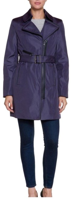 Marc New York Chrystie Plum Coat Size 8 (M) Marc New York Chrystie Plum Coat Size 8 (M) Image 1