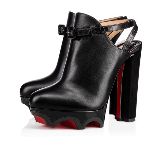 Preload https://img-static.tradesy.com/item/22829953/christian-louboutin-black-forgeron-140-platform-strap-heel-bootie-pumps-size-eu-36-approx-us-6-regul-0-0-540-540.jpg