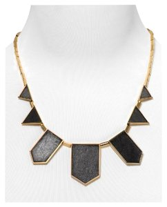 House of Harlow 1960 House of Harlow 1960 Leather Station Necklace, 18""