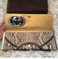 Gucci Rare Patchwork Studded Cuff Python Clutch Gucci Rare Patchwork Studded Cuff Python Clutch Image 3