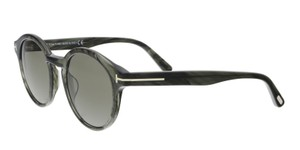 Tom Ford Tom Ford FT0400/S 20B LUCHO Grey Round Sunglasses