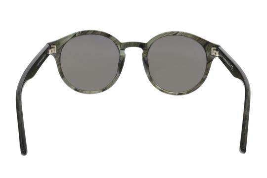 Tom Ford Tom Ford FT0400/S 20B LUCHO Grey Round Sunglasses Image 3