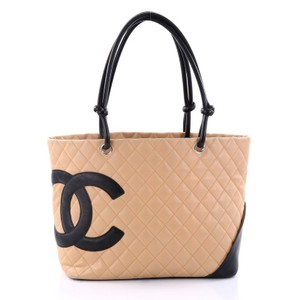 Chanel Cambon Tote in Nude