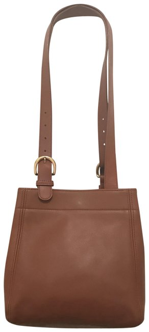 Coach Soho Waverly Vintage 4157 Brown Gold Leather Tote Coach Soho Waverly Vintage 4157 Brown Gold Leather Tote Image 1