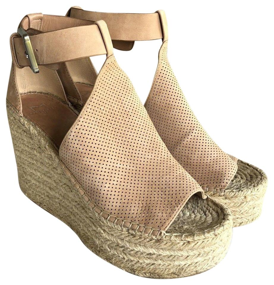 6d2f36c8579 Marc Fisher Annie Perforated Espadrille Sandals Wedges Size US 9.5 ...