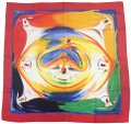 Hermès Hermes Smiles in the Third Millenary twill scarf Image 0