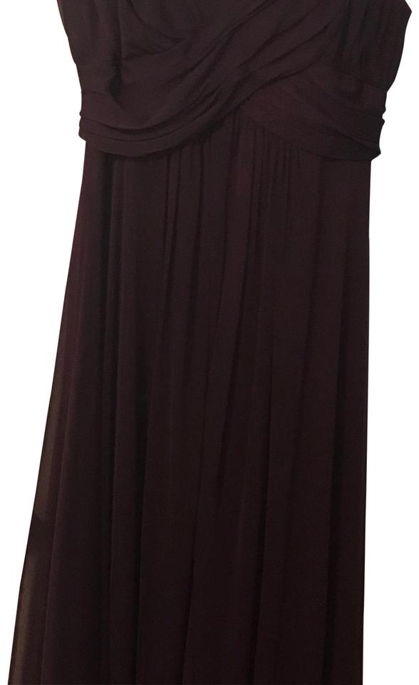 Betsy Adam Eggplant Gown 10419p Long Formal Dress Size 2 Xs 92 Off Retail