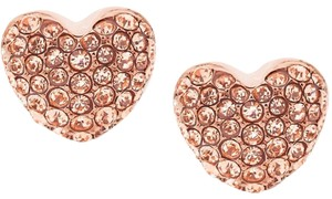 Michael Kors Michael Kors Pavé Heart Stud Earrings MKJ6320791