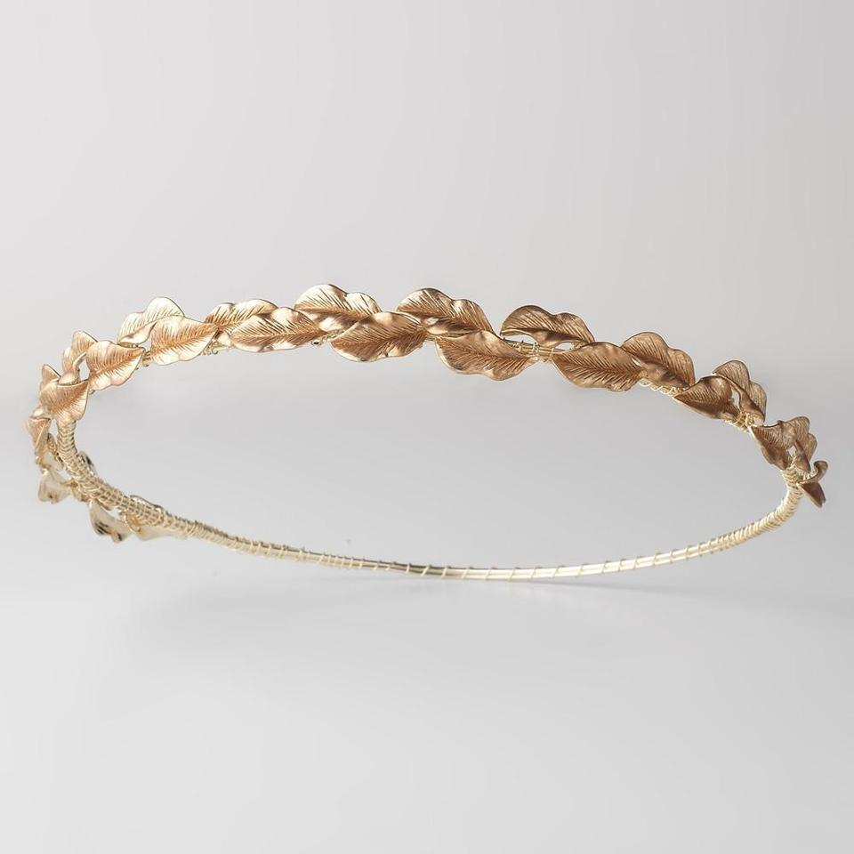 Elegance by Carbonneau Gold Leaf Headband Crown Greek Goddess Leaf Halo  Tiara ... 6c0653adea3