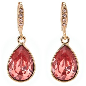 Givenchy Gold-Tone Pear-Shaped Earrings