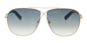 Tom Ford Tom Ford FT0393/S 28P APRIL Gold Aviator Sunglasses