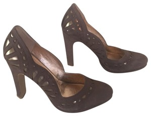 Miss Albright Brown Pumps