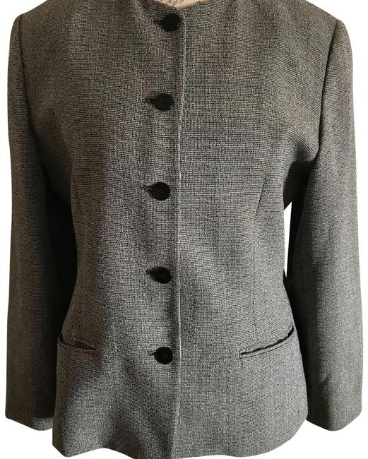 Burberry London Gray Lined Wool Blazer Size 10 (M) Burberry London Gray Lined Wool Blazer Size 10 (M) Image 1