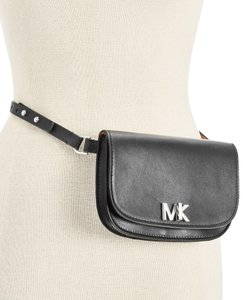 Michael Kors Michael Kors Leather Turnlock Fanny Pack Size Small