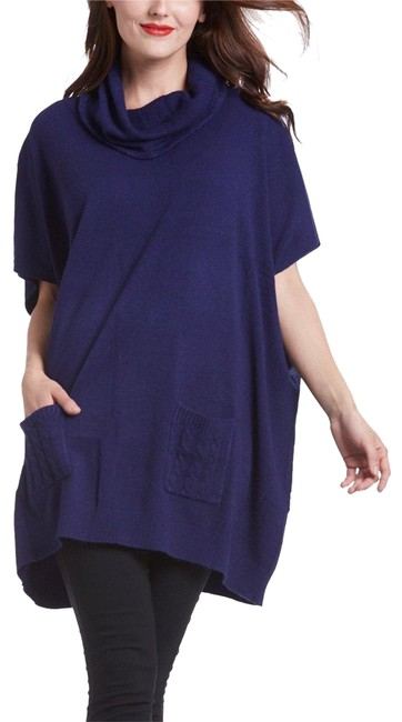 Preload https://img-static.tradesy.com/item/22832416/navy-modal-blend-cowl-neck-tunic-size-16-xl-plus-0x-0-1-650-650.jpg