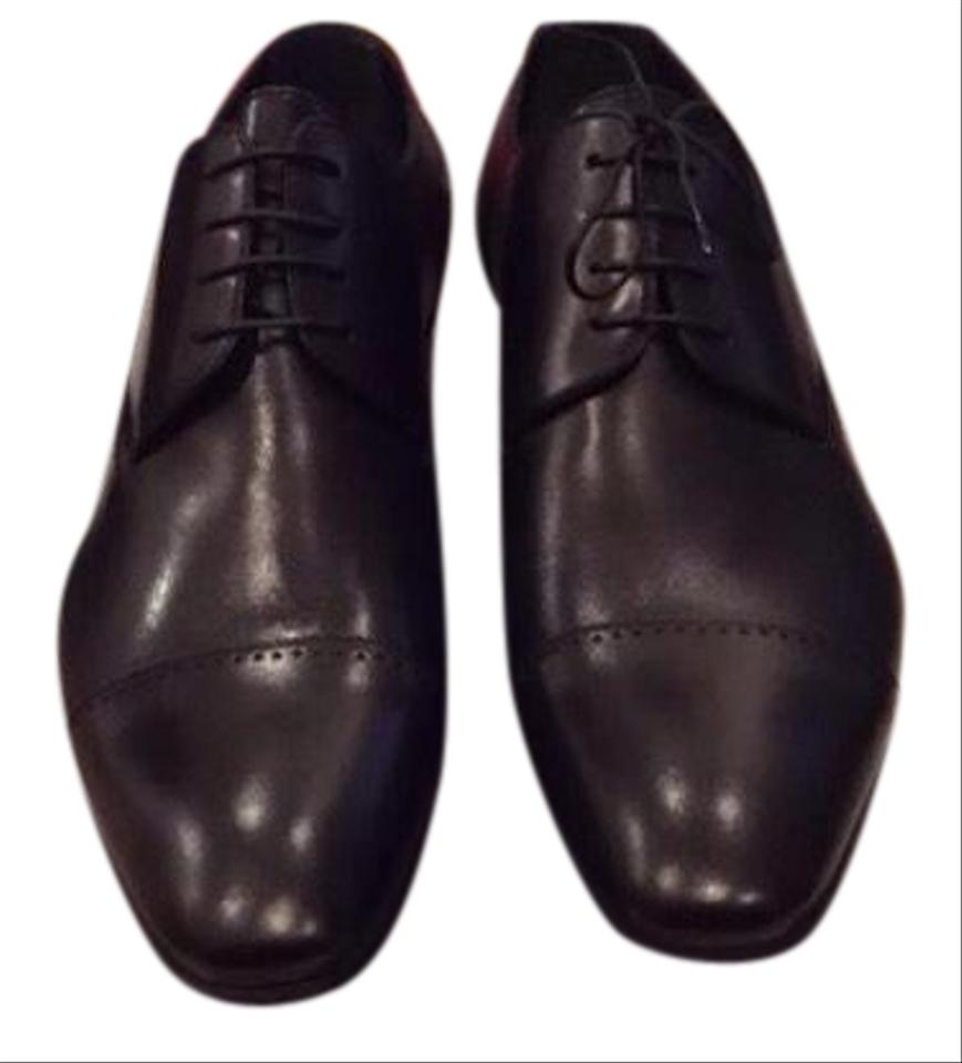 a43def115aec Louis Vuitton Black Men s Derby 1 2 Formal Shoes Size US 8.5 Regular ...