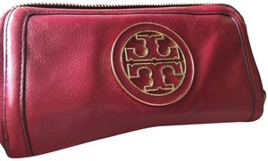 Tory Burch Tory Burch Leather Pink Wallet